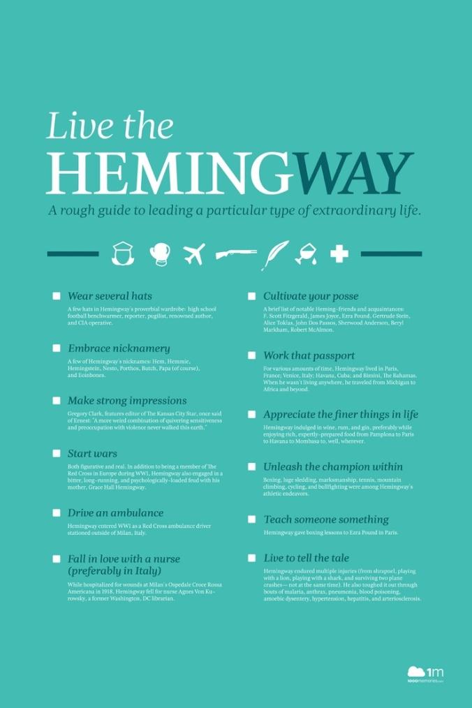 Live the Hemingway