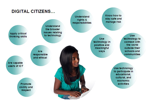 The 12 Commandments of Digital CItizens
