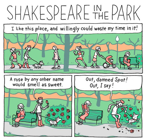 Shakespeare in the Park - This Isn't Happiness
