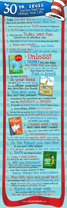 Dr. Seuss Can Change Your Life