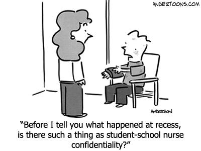 School Nurse Confidentiality Funny